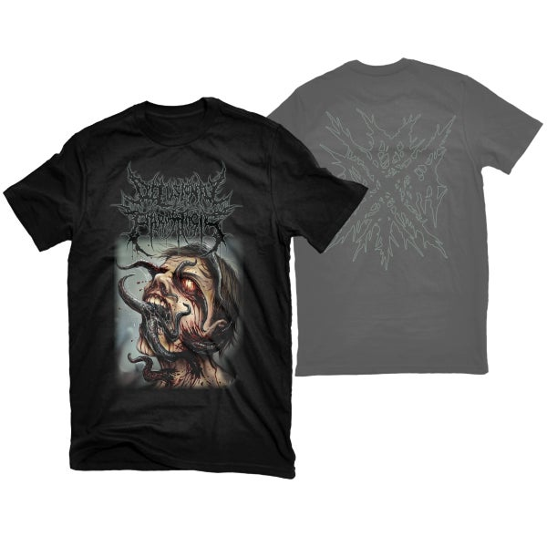 "Image of DELUSIONAL PARASITOSIS ""WORMS"" T-SHIRT"