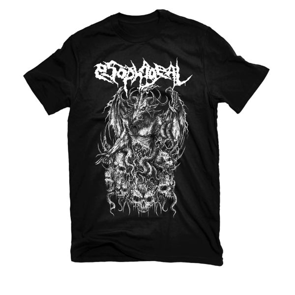 "Image of ESOPHAGEAL ""DELUDED BLIND SORCERY"" T-SHIRT"