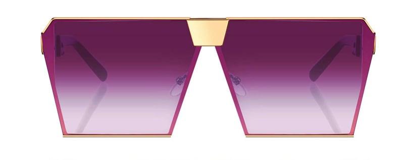 Image of Vintage Square unisex Sunglasses
