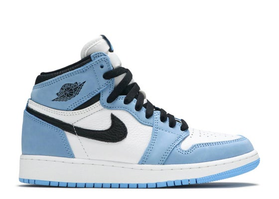 "Image of Air Jordan 1 Retro High OG ""University Blue"" (GS)"