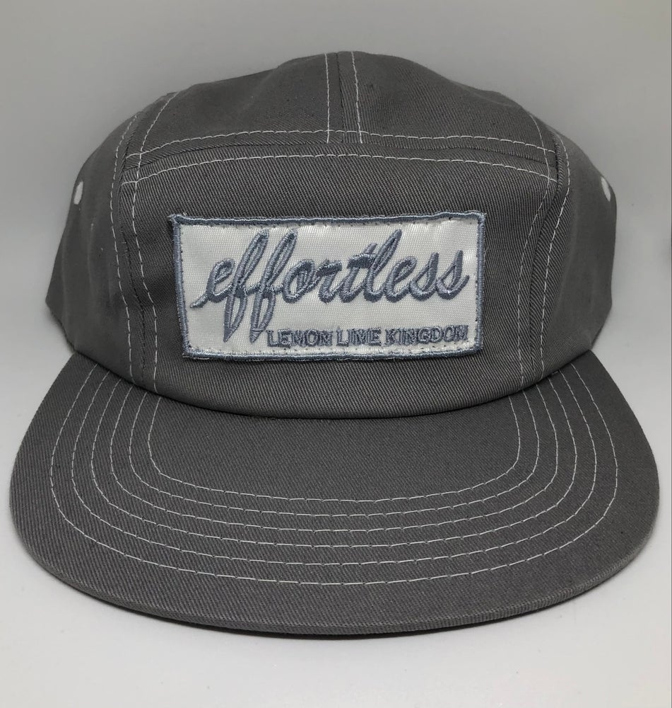 Image of Grey Effortless 5 Panel Hat