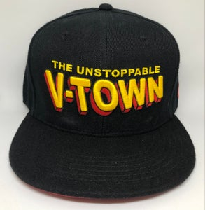 Image of The Unstoppable V-TOWN Snapback Hat
