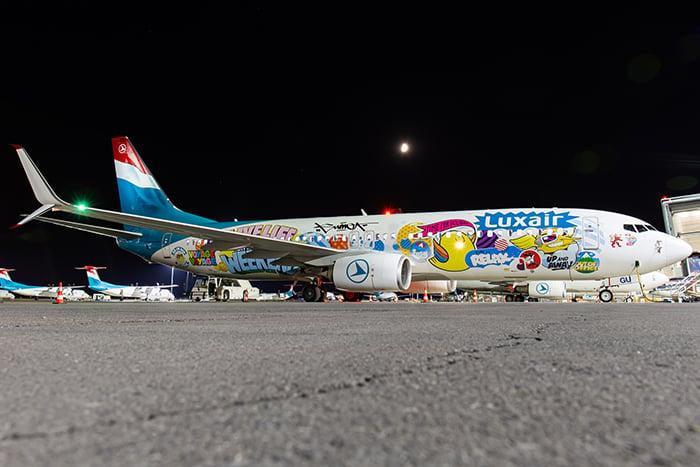 Image of Luxair B738 LX-LGU SUMO!