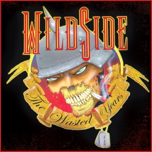 """Image of WildSide """"The Wasted Years"""" factory silver pressed 14 track CD - RLS Records (2004)"""