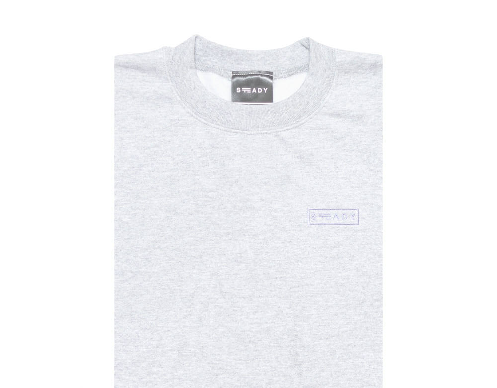 Image of STEADY/CHAMPION® OUTLINE LOGO CREW
