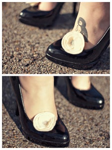 Image of Felt Blooms | Shoe Clips