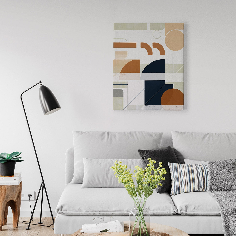 Image of Framework No. 1 Canvas Art Print
