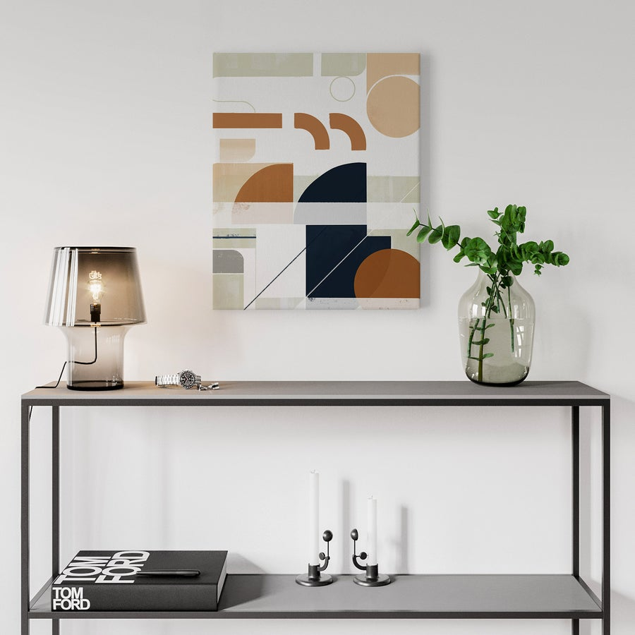 Image of Framework No. 1 Canvas Art Print