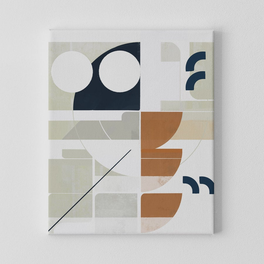 Image of Framework No. 2 Canvas Art Print