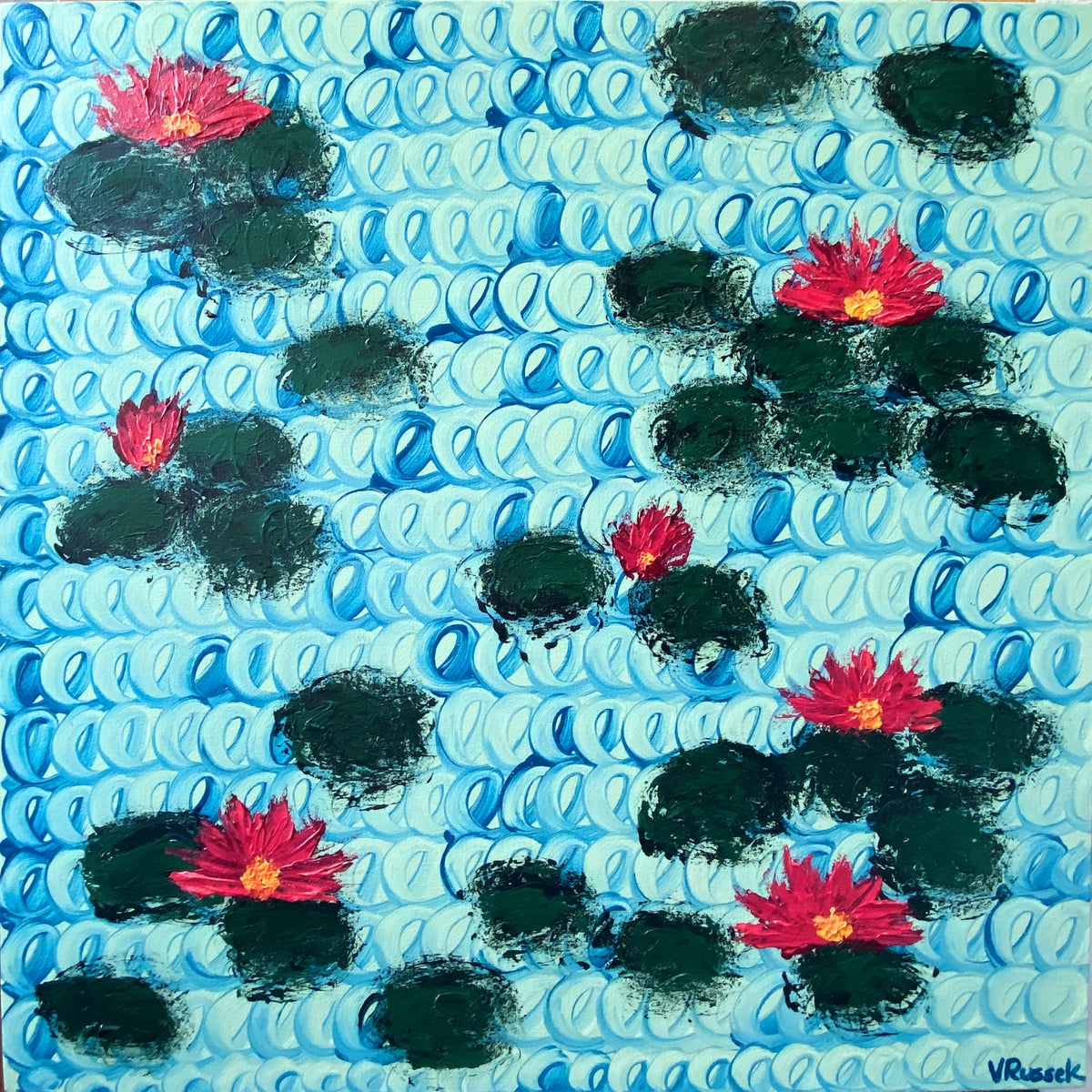 Image of WATERLILIES 9