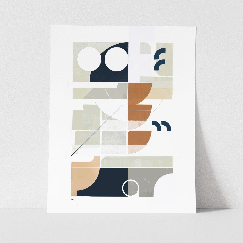Image of Framework No. 2 Art Print