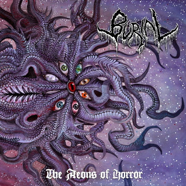 Image of BURIAL - The Aeons Of Horror CD