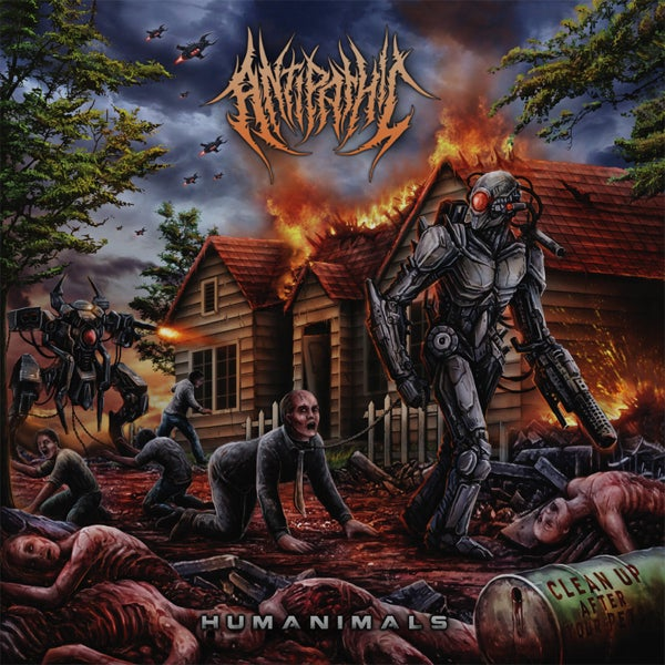 Image of ANTIPATHIC - Humanimals CD
