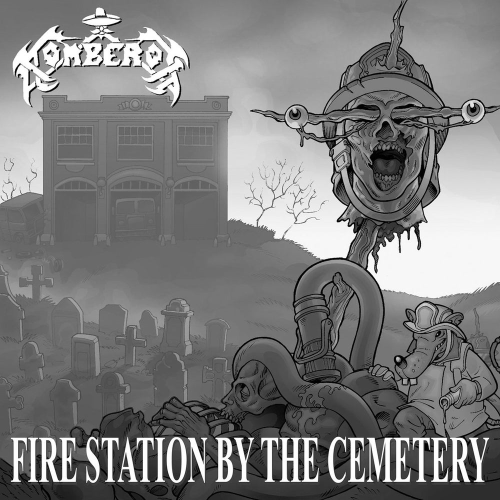 Image of BOMBERDOS / INBREEDING SICK - Fire Station by the Cemetery / The Impaler CD