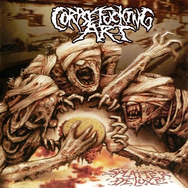Image of CORPSEFUCKING ART Splatter Deluxe CD