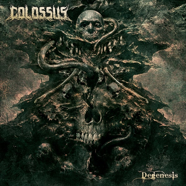 Image of COLOSSUS Degenesis CD