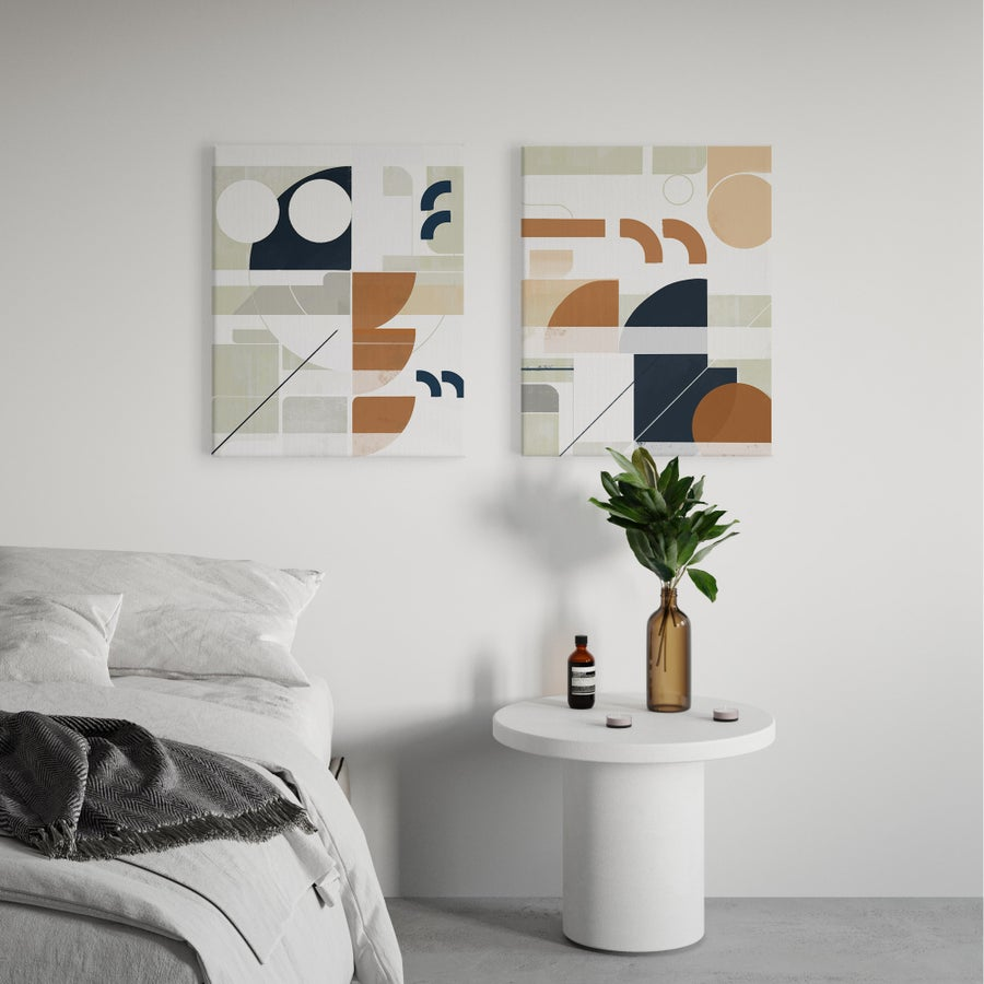 Image of Framework Series — 2 Canvas Print Set