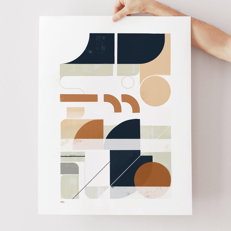 Image of Framework No. 1 Art Print