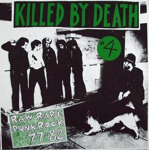 KILLED BY DEATH #4 12""