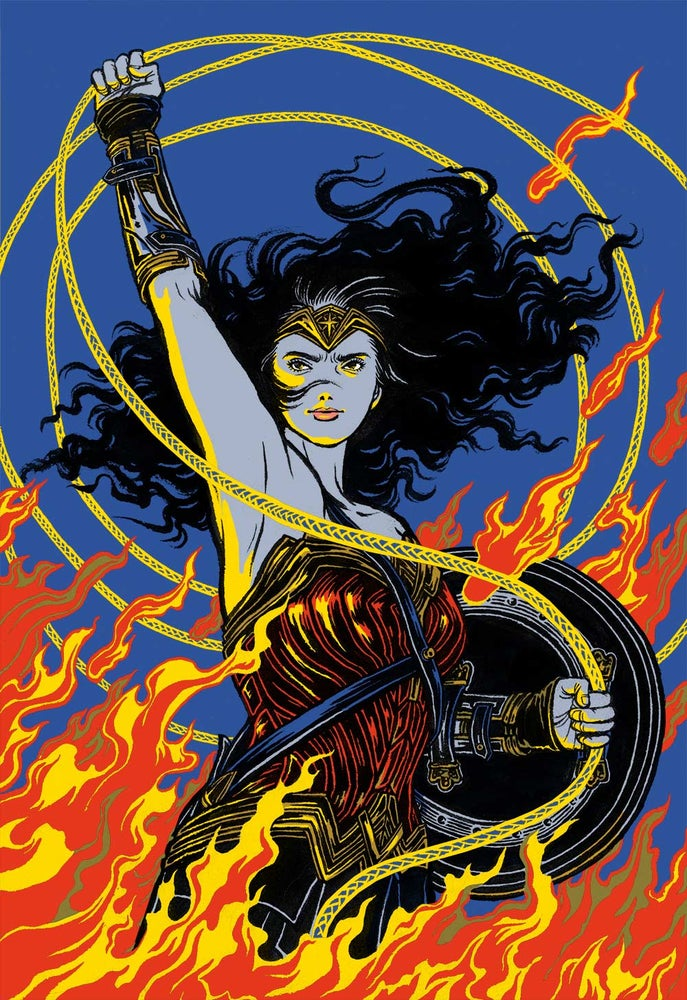 Image of Justice League Wonder Woman T-shirt
