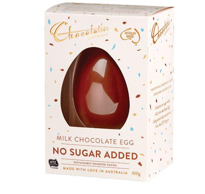 Image of Chocolatier No Added Sugar Milk Chocolate Egg