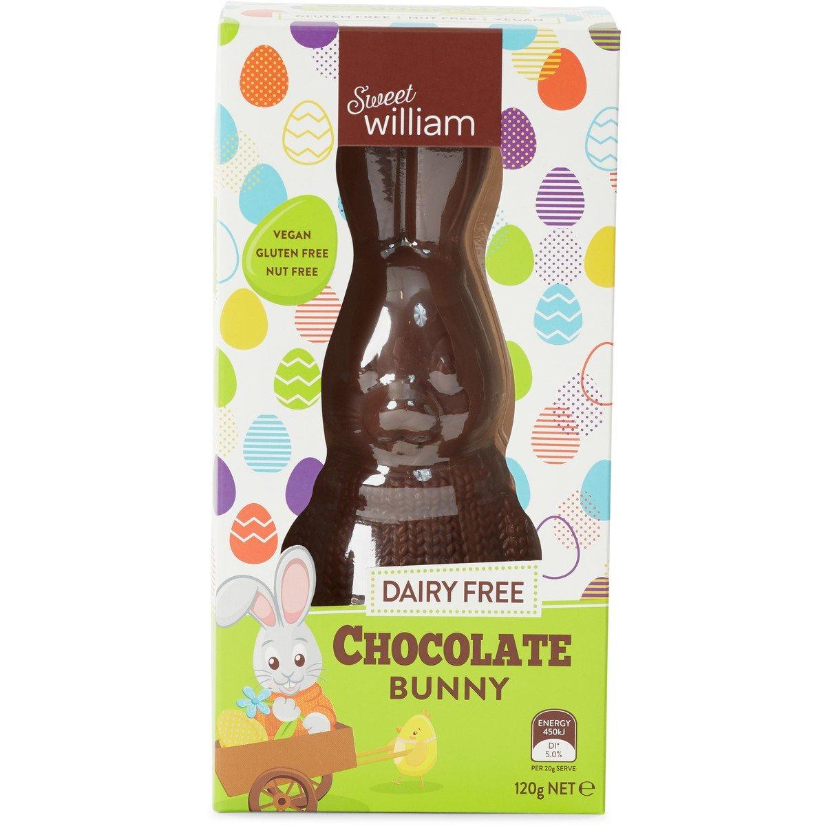 Image of Sweet William Dairy Free Chocolate Bunny