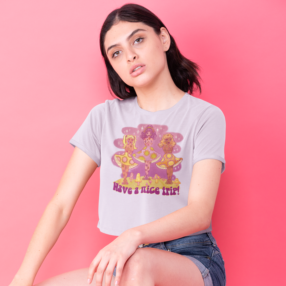 Image of HAVE A NICE TRIP BABY TEE