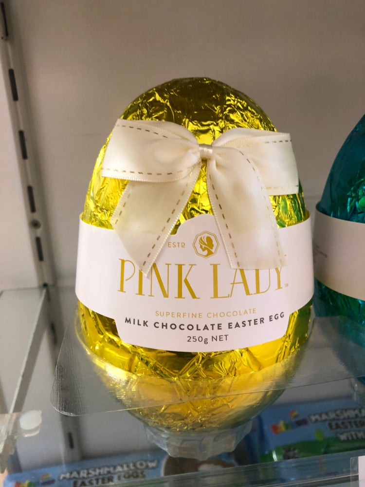 Image of Pink Lady Foiled Milk Chocolate Egg (250 g)