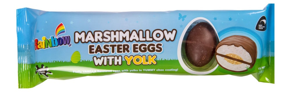 Image of Rainbow Marshmallow Easter Eggs with Yolk