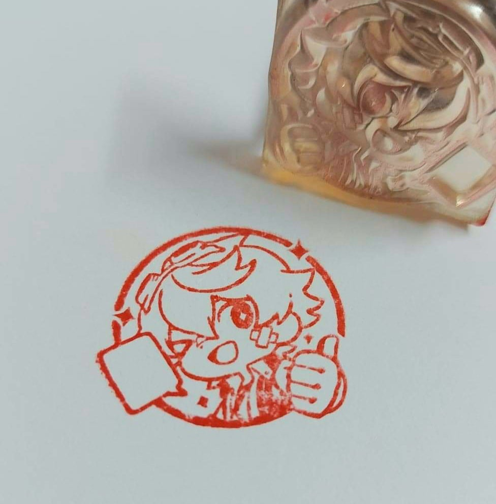 Image of Genshin Clear Stamps - APRIL 21 restock-subject to change