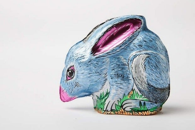 Image of Pink Lady Foiled Milk Chocolate Bilby (150g)