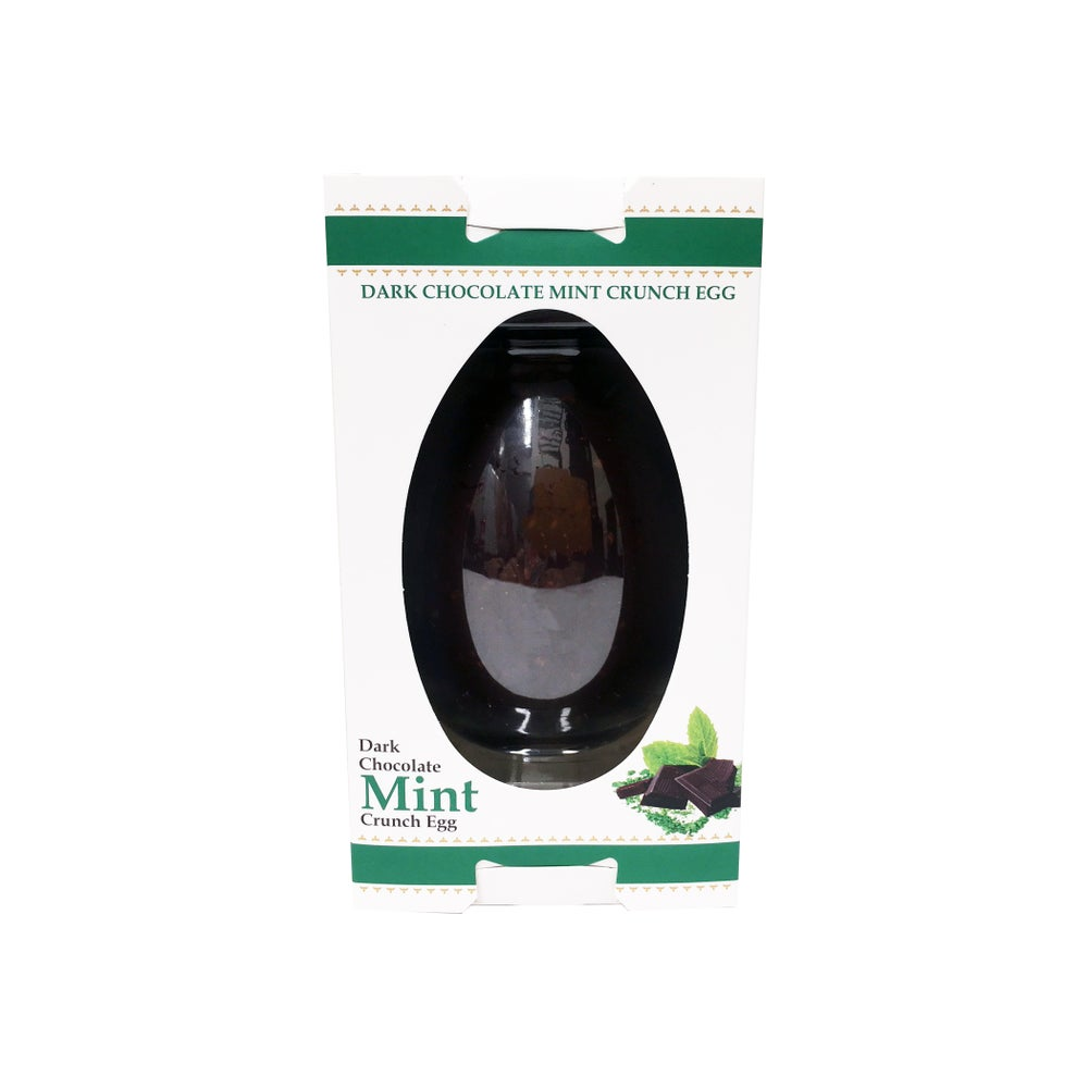 Image of Dark Chocolate Mint Egg (150 g)