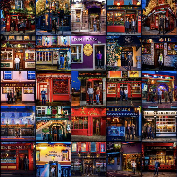 Image of The Pubs of Ireland during Covid