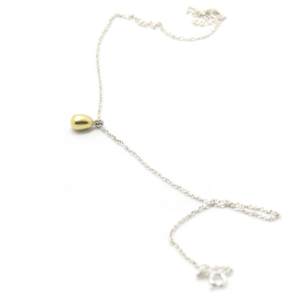 Image of TINY EGG NECKLACES