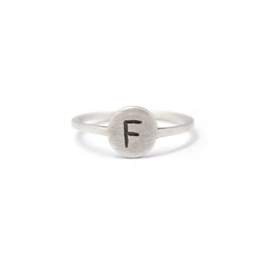 Image of LETTERED RING