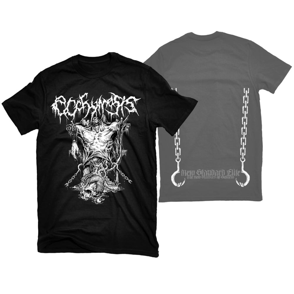 "Image of ECCHYMOSIS ""RIPPING CHAINS"" T-SHIRT"
