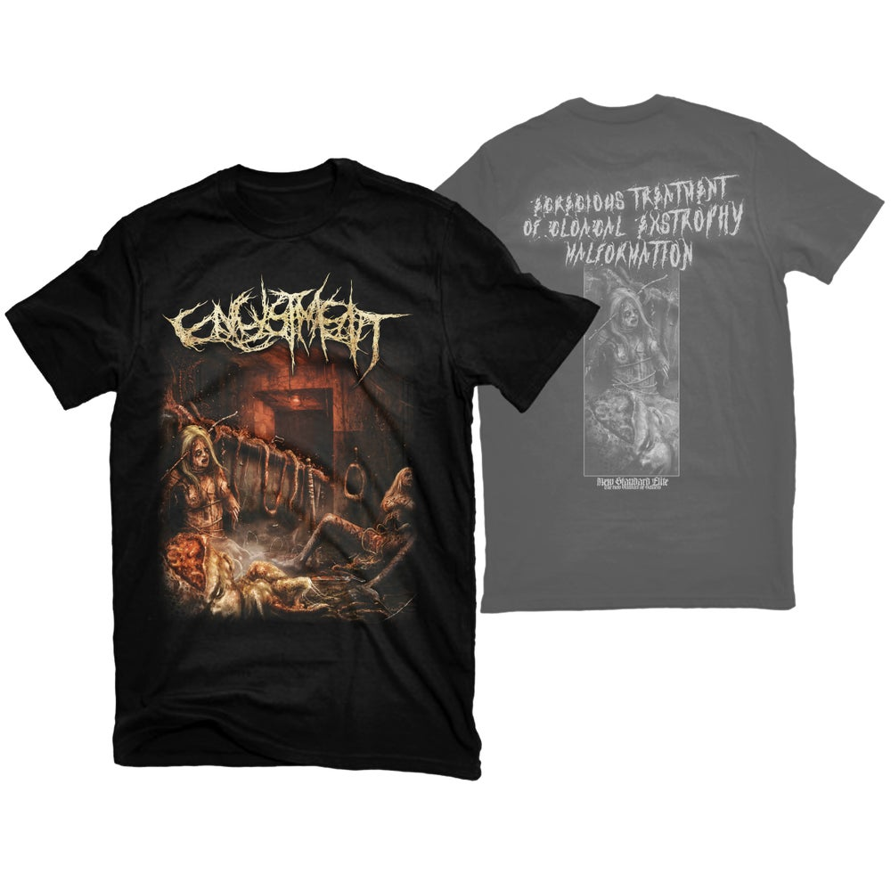 """Image of ENCYSTMENT """"EXTROPHY"""" T-SHIRT"""