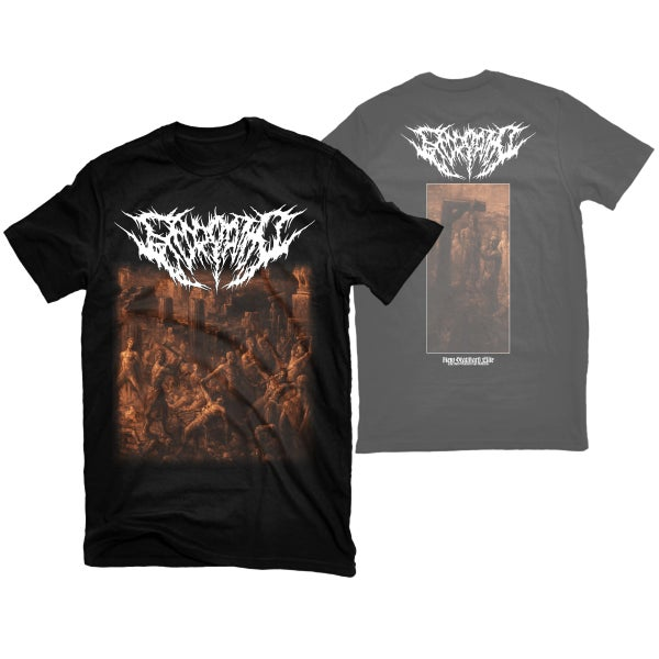 "Image of EXCORIATION ""EXCORIATION"" T-SHIRT"
