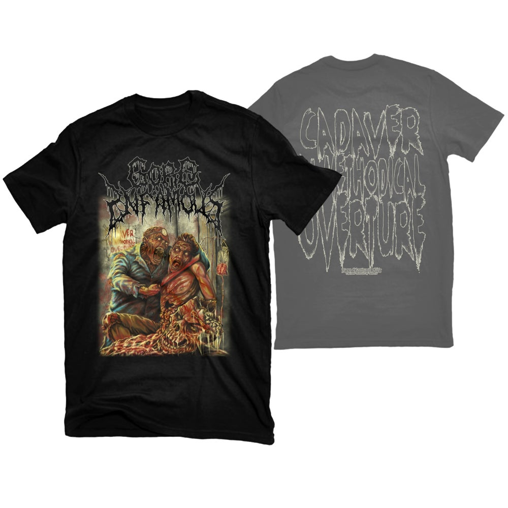 "Image of GORE INFAMOUS ""CADAVER IN METHODICAL OVERTURE"" T-SHIRT"
