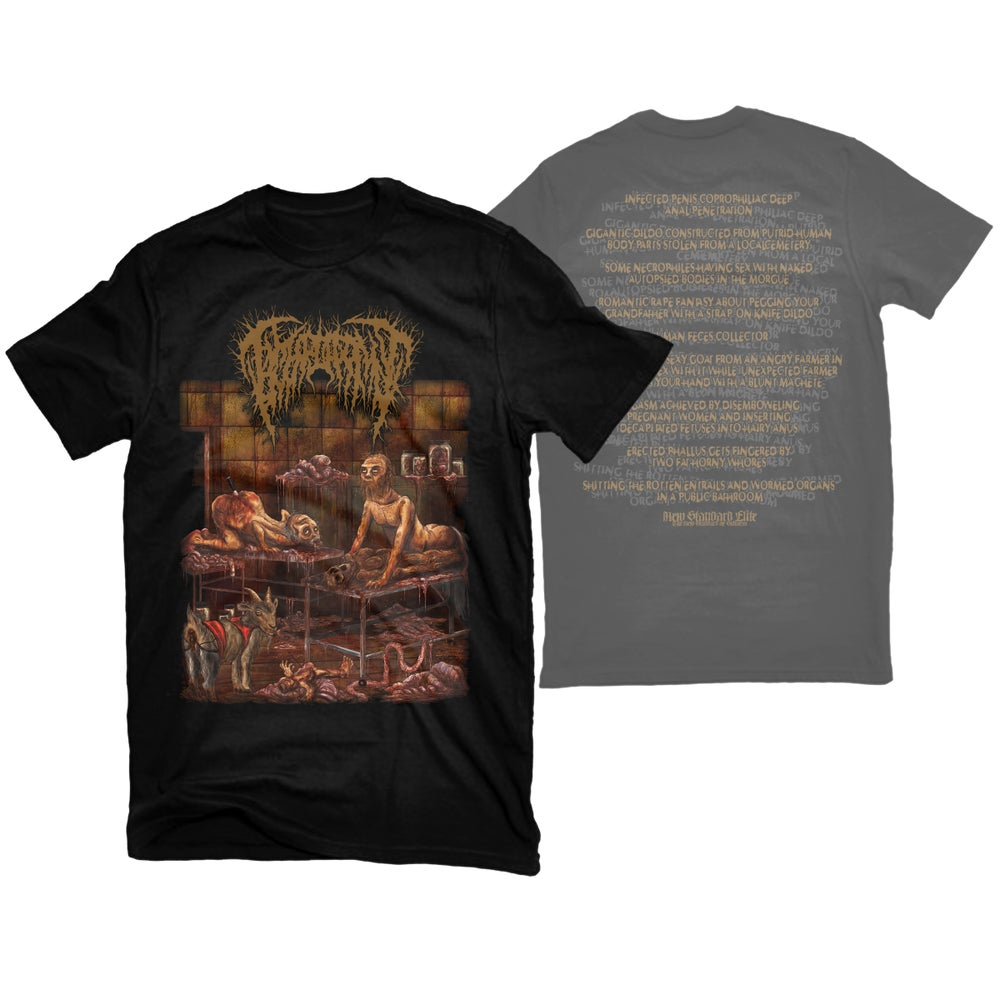 """Image of HYMENOTOMY """"SOME NECROPHILES"""" T-SHIRT"""