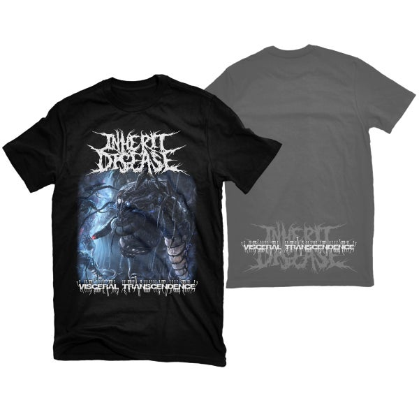 "Image of INHERIT DISEASE ""VISCERAL TRANSCENDENCE"" T-SHIRT"