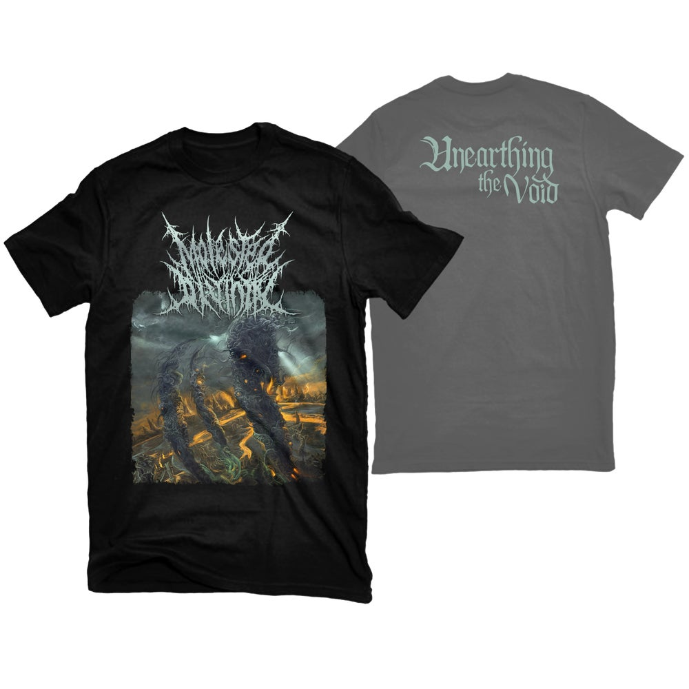 """Image of MOLESTED DIVINITY """"UNEARTHING THE VOID"""" T-SHIRT"""