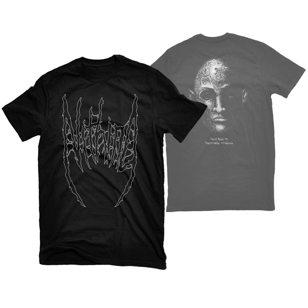"Image of NITHING ""FETID REEK OF INTERMINABLE EXISTENCE"" T-SHIRT"