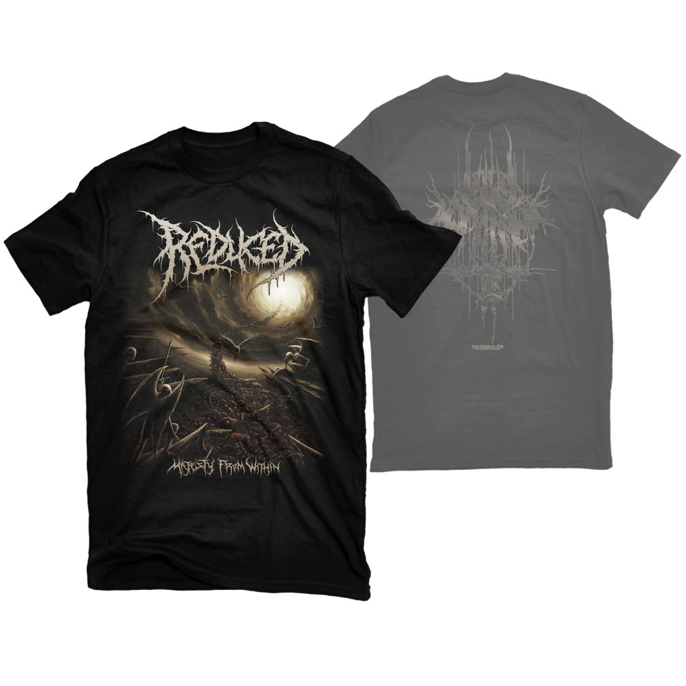 """Image of REDUCED """"MAJESTY FROM WITHIN"""" T-SHIRT"""