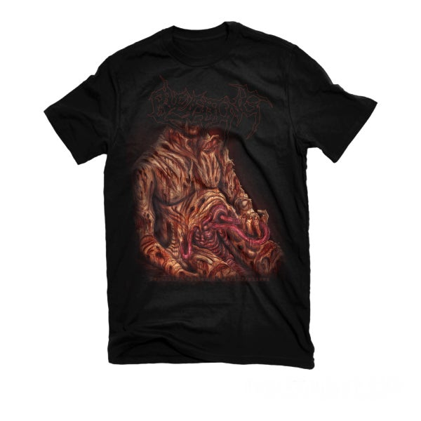 "Image of BLEEDING ""DEPULSING EPIDERMAL PERFORATIONS"" T-SHIRT"