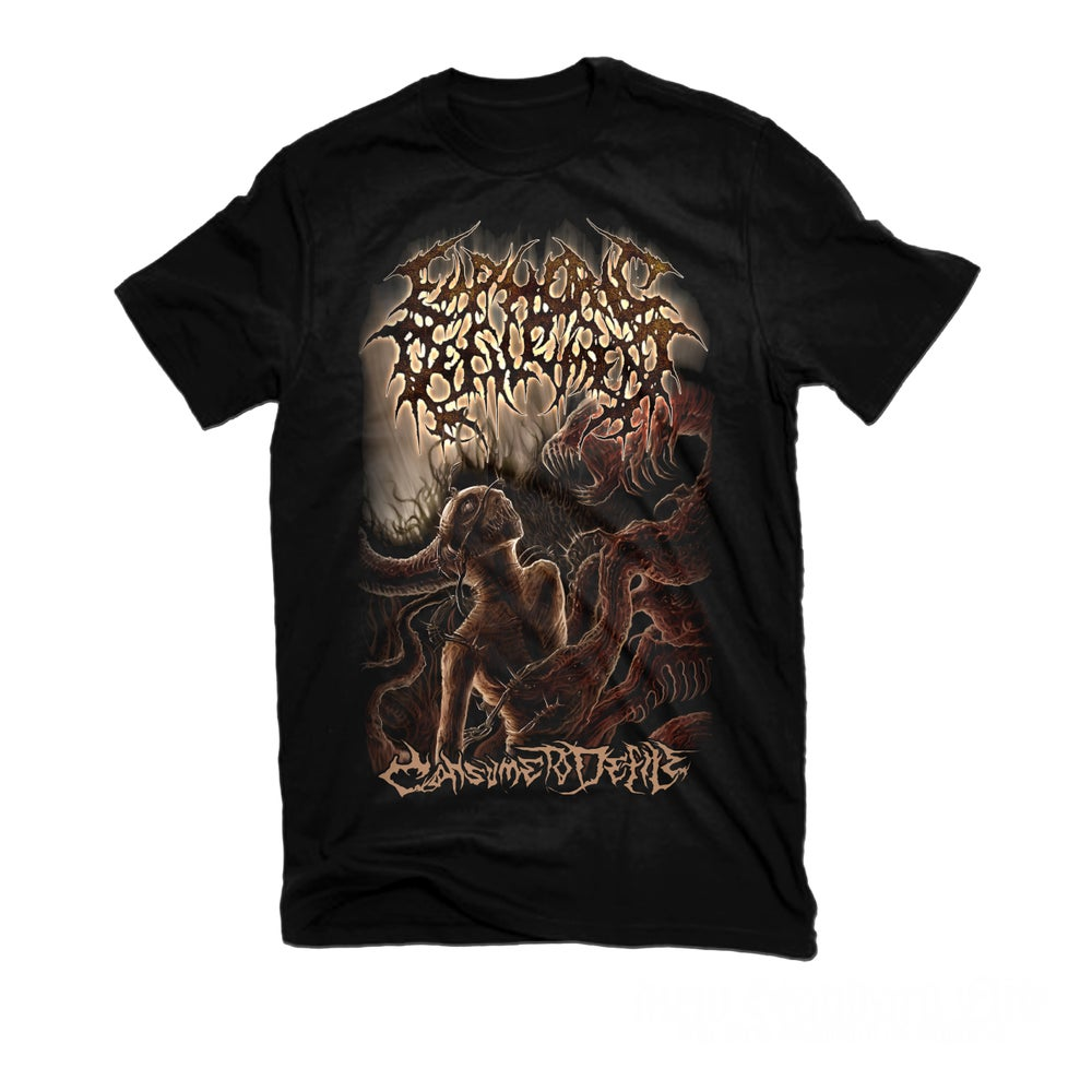 """Image of EUPHORIC DEFILEMENT """"CONSUME TO DEFILE"""" T-SHIRT"""