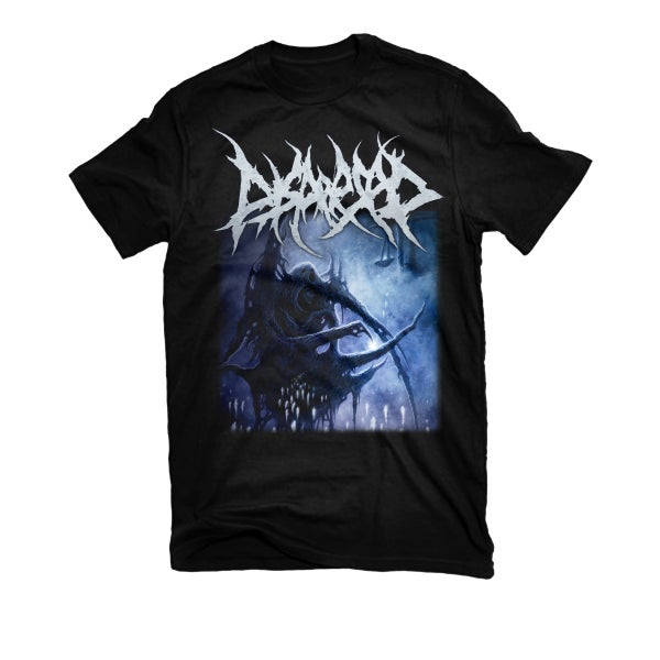 "Image of DISPERSED ""WHERE SILENCE REIGNS"" T-SHIRT"