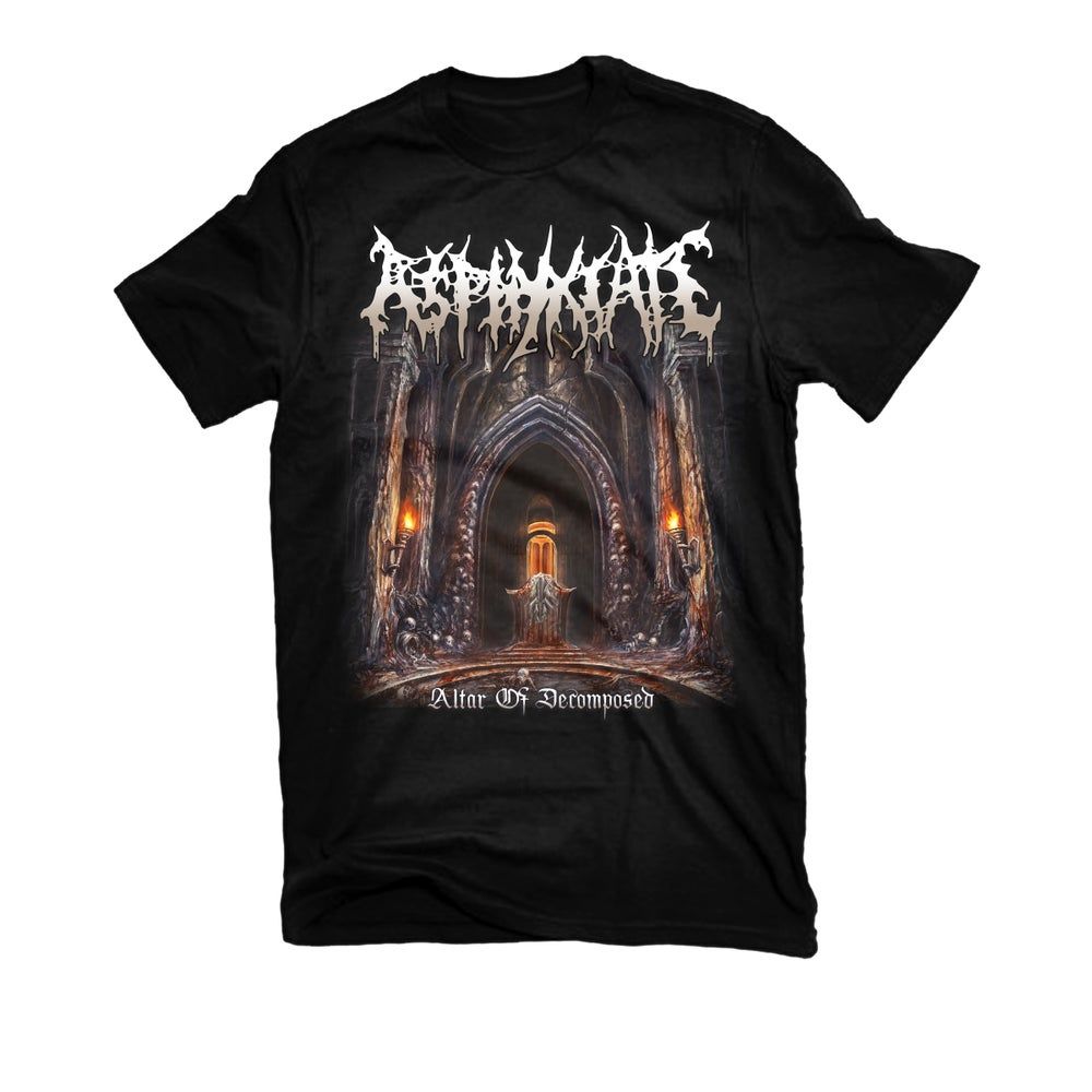 "Image of ASPHYXIATE ""ALTAR OF DECOMPOSED"" T-SHIRT"