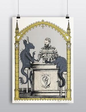 "Sérigraphie / Portrait d'artiste *06* ""Codex Urbanus"""