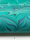 Marbled Paper Marrs Green 1/2 sheet